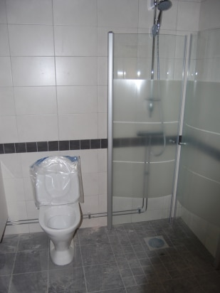 Ny Toalett I Badrum